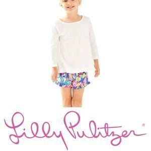 Lilly Pulitzer Girls Mina Top - XL - White - NWT
